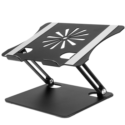 Laptop Stand, HengLiSam Ergonomic Adjustable Laptop Stand Riser Portable with Heat-Vent , Laptop Holder Compatible for MacBook Air Pro, Dell, HP, Lenovo More 10-17